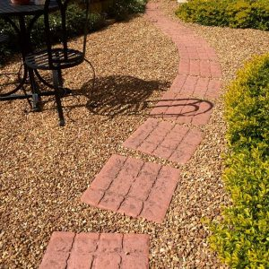 Stepping Path With P33 Cobblestone Paver