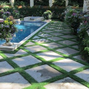 Paving And Grass Installation
